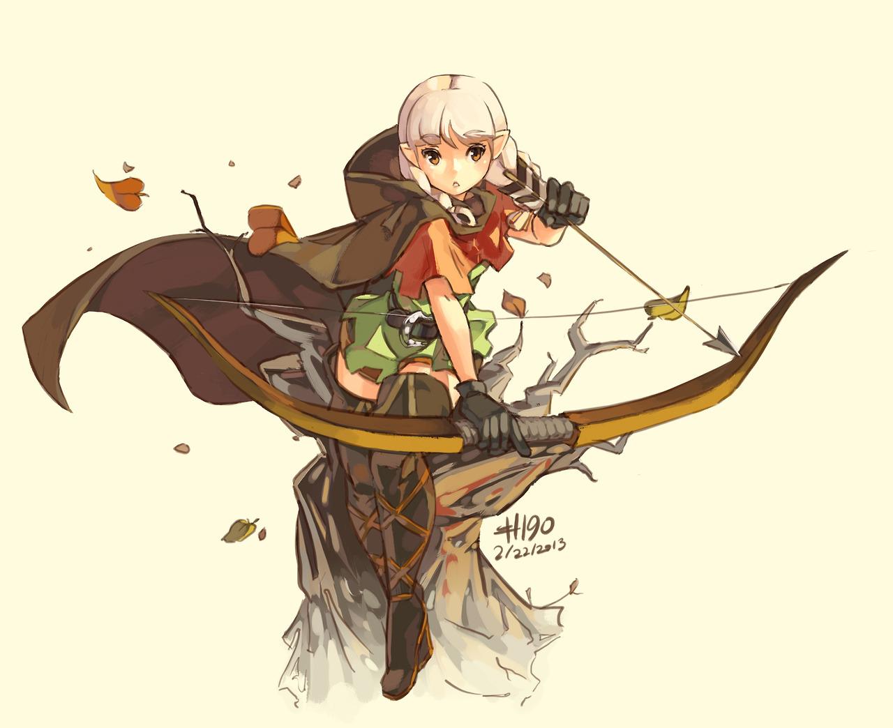 The 5e Archer Druid | Burrowowl